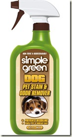 Simple Green Pet Stain & Odor Remover Review & Giveaway