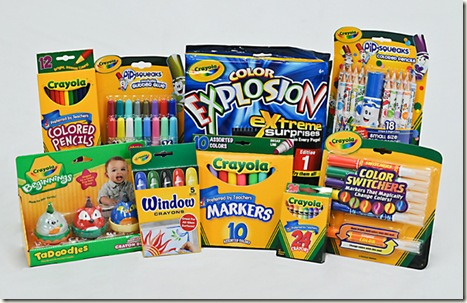Crayola Creativity Cast: Week 2 Giveaway!
