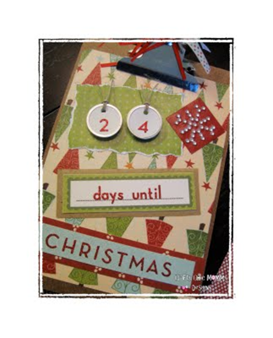clipboard christmas countdown