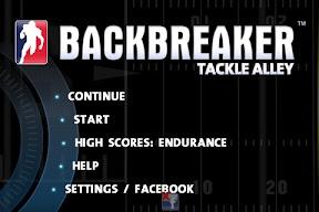 iPhone Backbreaker
