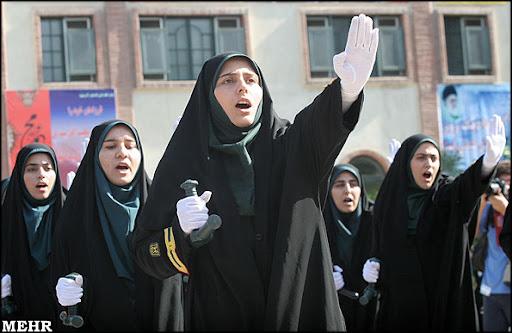 Police women in Iran