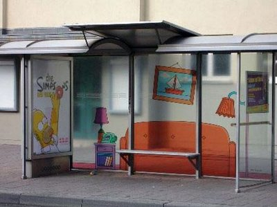 Coolest bus stand in the world