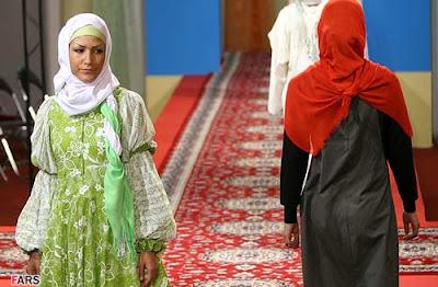 Fashion show in Iran
