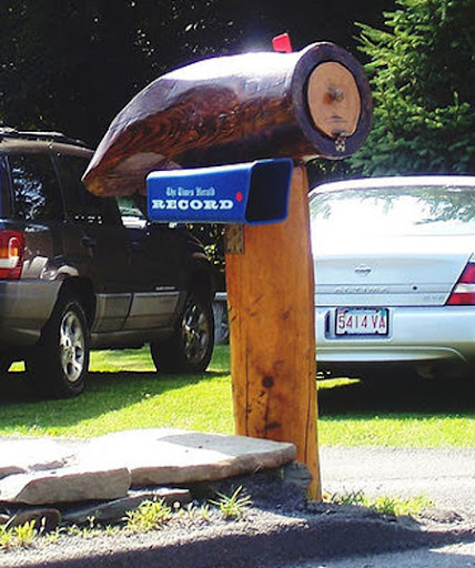 Unusual and Unique Mailbox