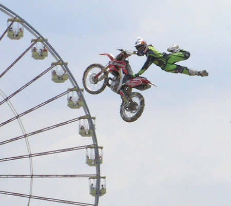 craziest stunts in the world