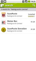 Screenshot of ScanPaste Donation
