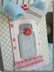 mason jar cherry jubilee