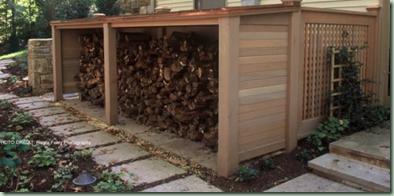firewood via houzz