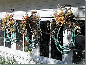 hose wreath bachman idea house