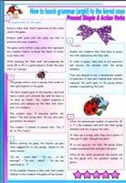 how to teach grammar