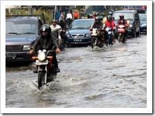 jakarta banjir dan macet parah