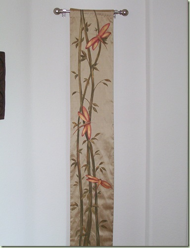 Painted Silk Wall Hanging