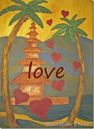 eat pray love painting