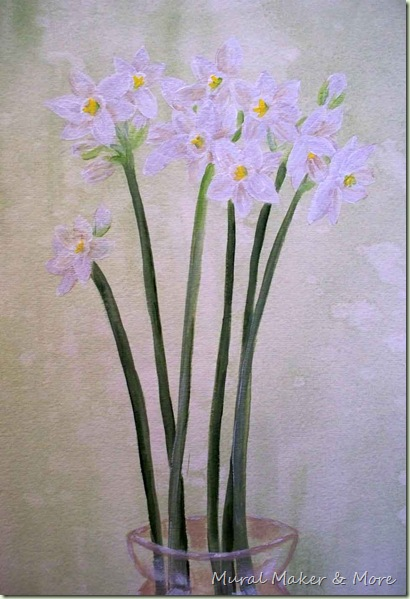 Paperwhite narcissus painting instruction just paint it blog id have to say my favorite subject matter to paint is flowers it might come from being a floral designer long ago mightylinksfo Images