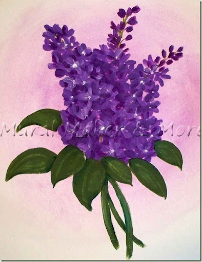 how to make purple oil paint