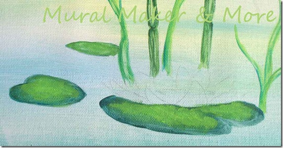 paint-Lily-pads-2