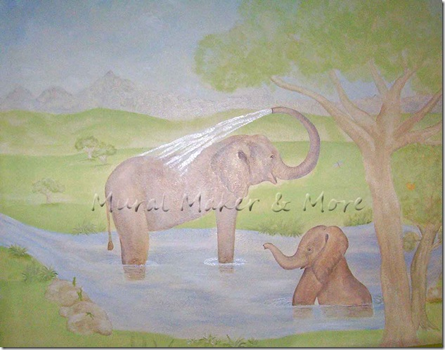 Elephant-Mural-in-Nursery-2