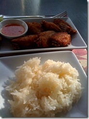 sticky rice with chicken