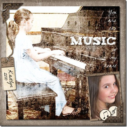 Musical Melodies Page Small