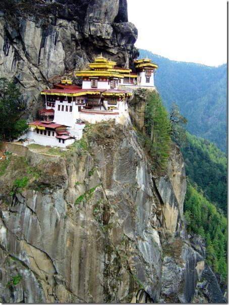 Bhutan Temple 1