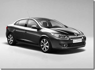 6.Renault Fluence Sedan