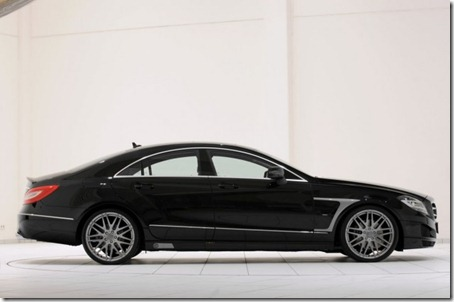BRABUS-Mercedes-Benz-CLS-Class side view