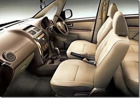 Maruti SX4 interiors