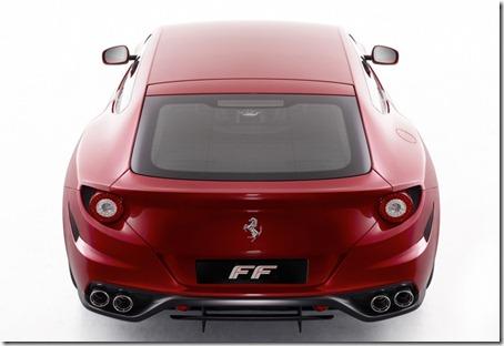 Ferrari FF Rear View