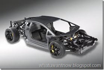 Lamborghini Aventador LP700-4 chassis