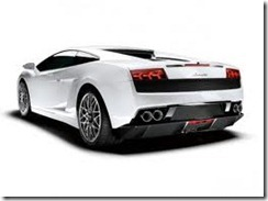 Lamborghini Gallardo Tricolore rear view