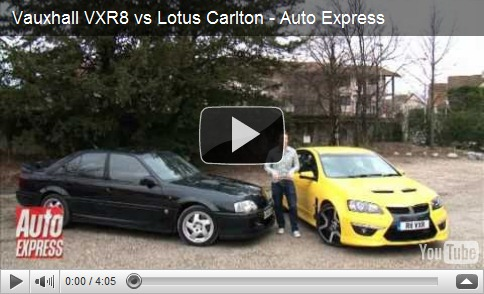 show time 2011 vauxhall vxr8 vs lotus carlton all u want get it now. Black Bedroom Furniture Sets. Home Design Ideas