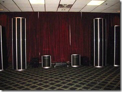 Infinite Wisdom Grande Loudspeaker by Wisdom Audio from Bobby Owsinski's Big Picture production blog