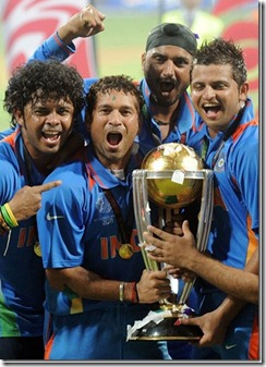 India Won The World Cup 2011 Pictures 9