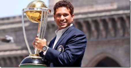 World Cup Trophy in Front of the Gateway of India 2
