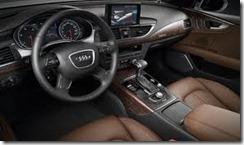 2012 Audi A7 interior