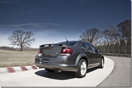 2012-Dodge-Avenger-RT-Rear-Angle
