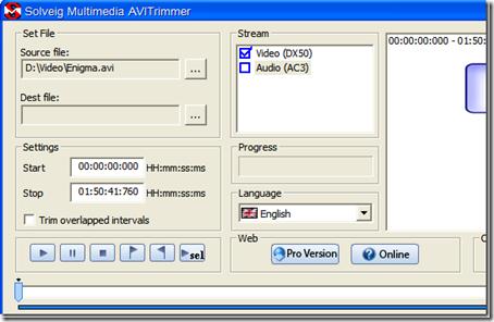 AVITrimmervideoeditingsoftware