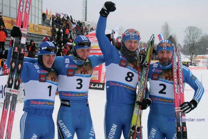 Николай Морилов, Никита Крюков, Михаил Девятьяров и Алексей Петухов, фото Олеси Федоровой