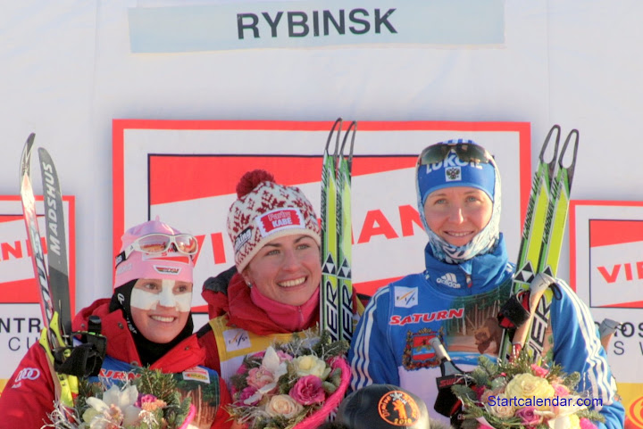 Эви Захенбахер-Штеле, Юстина Ковальчик и Ольга Щучкина, фото Алексея Федорова