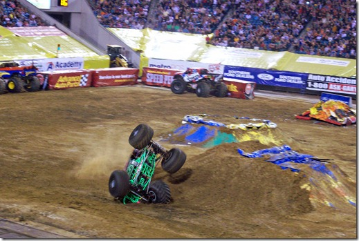 red bud monster jam 116
