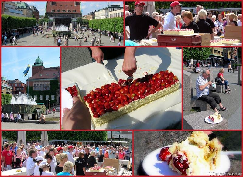 2010 06 29 Jubileum 389 år tårta