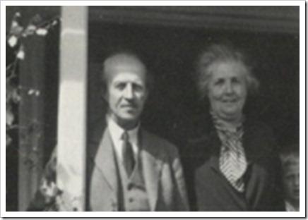 Natanael och Elsa Beskow 1937