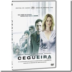 Ensaio Sobre a Cegueira: capa do DVD do filme