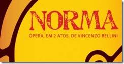 Flyer da Óópera Norma