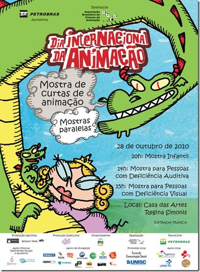 Cartaz DIA DA ANIMAÇÃO 2010 Mostras Paralelas