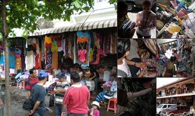 View pasar sukawati Ubud, Bali