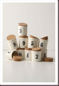 DIY Table numbers - SpiceJar