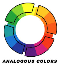 scrapbook color wheel
