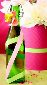 Table à desserts : du rose et des fleurs 9