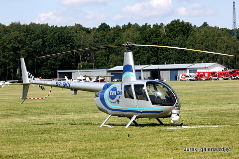 Robinson R44 Raven II Newscopter (SP-SKY), śmigłowiec.
